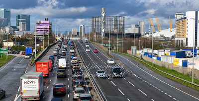 Feb' 29th 2020 Blackwall tunnel approach