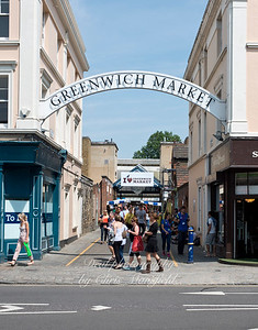 July 12th 2014. Greenwich market entrance