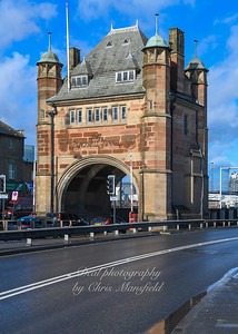 Feb' 29th 2020 . Original Blackwall tunnel entrance