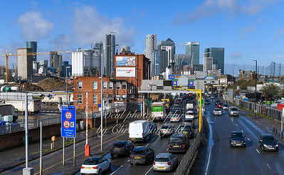 Feb' 29th 2020. Blackwall tunnel approach