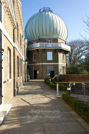 Feb' 20th 2012. Greenwich Observatory
