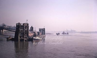 June 1969..  North Woolwich Pier