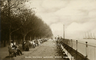 Early 1900s Victoria park North Woolwich