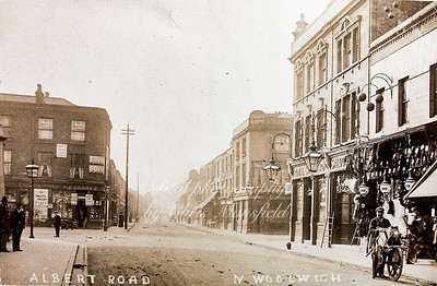 Late 1800s Royal standard pub , Albert road, North Woolwich