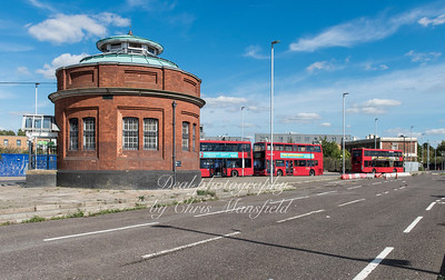 Sept' 23rd 2016  Foot tunnel and ferry approach, Nth Woolwich