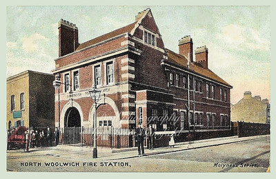 North Woolwich Fire station