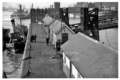 Approx' 1900... North Woolwich pier.