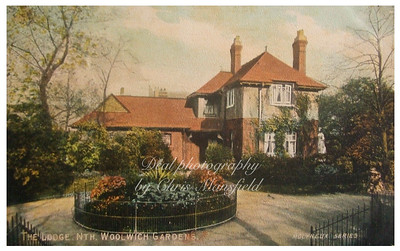 Late 1800s, Park keepers lodge,  Victoria park