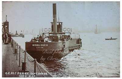 Great Eastern Railways ferry at North Woolwich