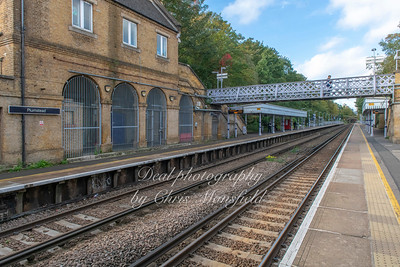 Oct' 11th 2018. Plumstead station