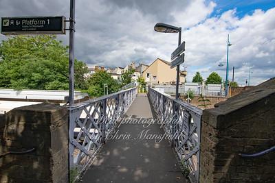 June 15th 2019 Plumstead station footbridge