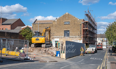 Sept' 28th 2018.  Starting work on Plumstead library