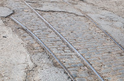 July 10th 2019.  Old tracks in the old tram yard off Lakedale road