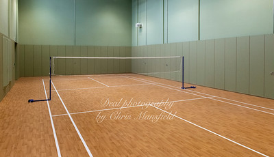 Feb' 18th 2020. Plumstead centre badminton court