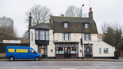 Jan' 20th 2018.  The Plume of Feathers, Plumstead high street