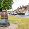 June 29th 2017.  George Webb memorial,  corner of Swingate lane