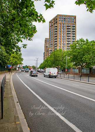 June 26th 2019 ..  Plumstead road, looking towards Woolwich