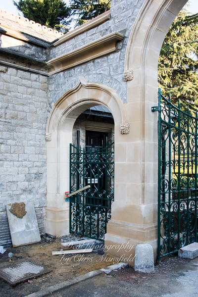 Jan'20th 2017.  Plumstead cemetery gates