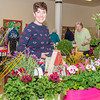 April 30th 2016 .  Rebeca Erol plant stall at St Marks community market