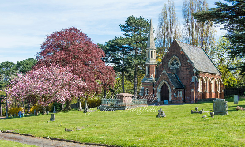 May 1st 2016.  Woolwich cemetery chapel