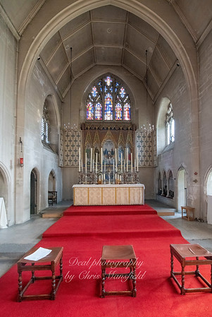 Oct' 24th 2018 St Nicholas church interior