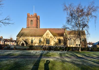 Dec' 29th 2016.  St Nicholas church Plumstead