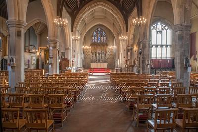 Oct' 24th 2018.  St Nicholas church interior