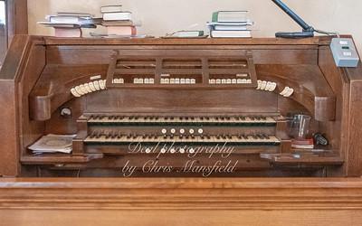 Oct' 24th 2018.  St Nicholas church organ