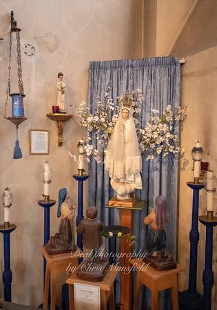 Oct' 24th 2018. St Nicholas church... Our lady of Fatima shrine