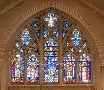 Oct' 24th 2018. St Nicholas church window