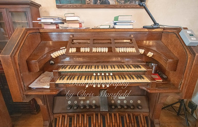 Oct' 24th 2018.  St Nicholas church organ