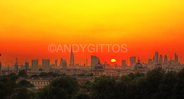 London City Sunset