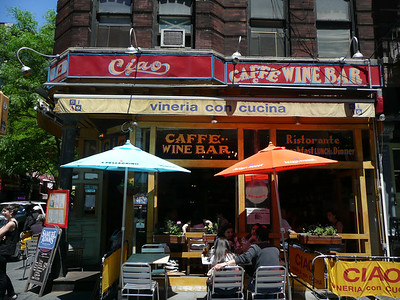 026-Greenwich Village-185 Bleecker Street-Ciao Caffe & Wine Bar