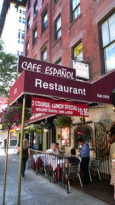 023-Greenwich Village-172 Bleecker Street  Cafe Espanol -James Agee