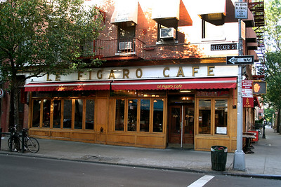004-Greenwich Village- Cafe Figaro  184-186 Bleecker Street