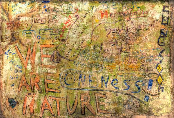 7th Grade Class Graffiti Fresco