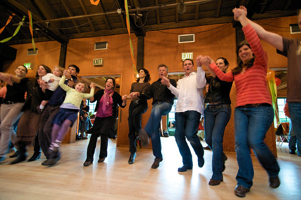 Parent Circle Folkdance Party at the Clubhouse