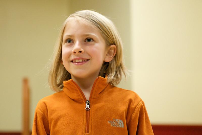 Greenwood School 2nd Grade Play Dress Rehearsal