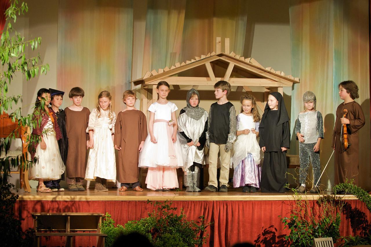 Greenwood School 2nd Grade Play -- Bows