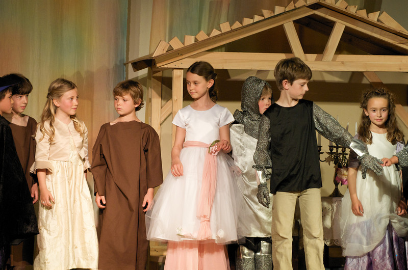 Greenwood School 2nd Grade Play -- Bows