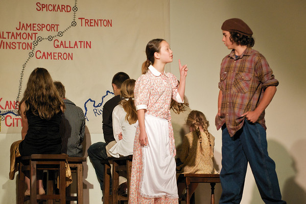 """The Orphan Train"" performed by the 7th Grade"