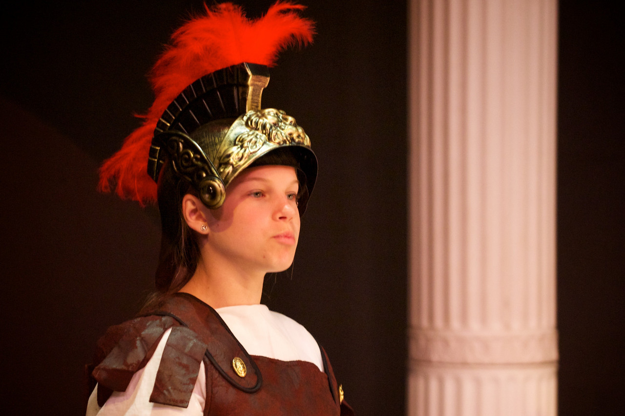 "Greenwood School 6th Grade Play, ""Roma Amor""."