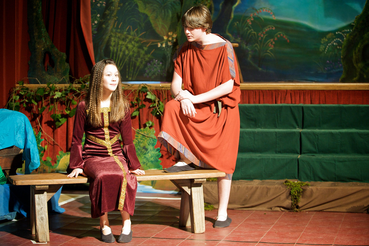 Greenwood School 8th Grade Class Play - A Midsummer Night's Dream