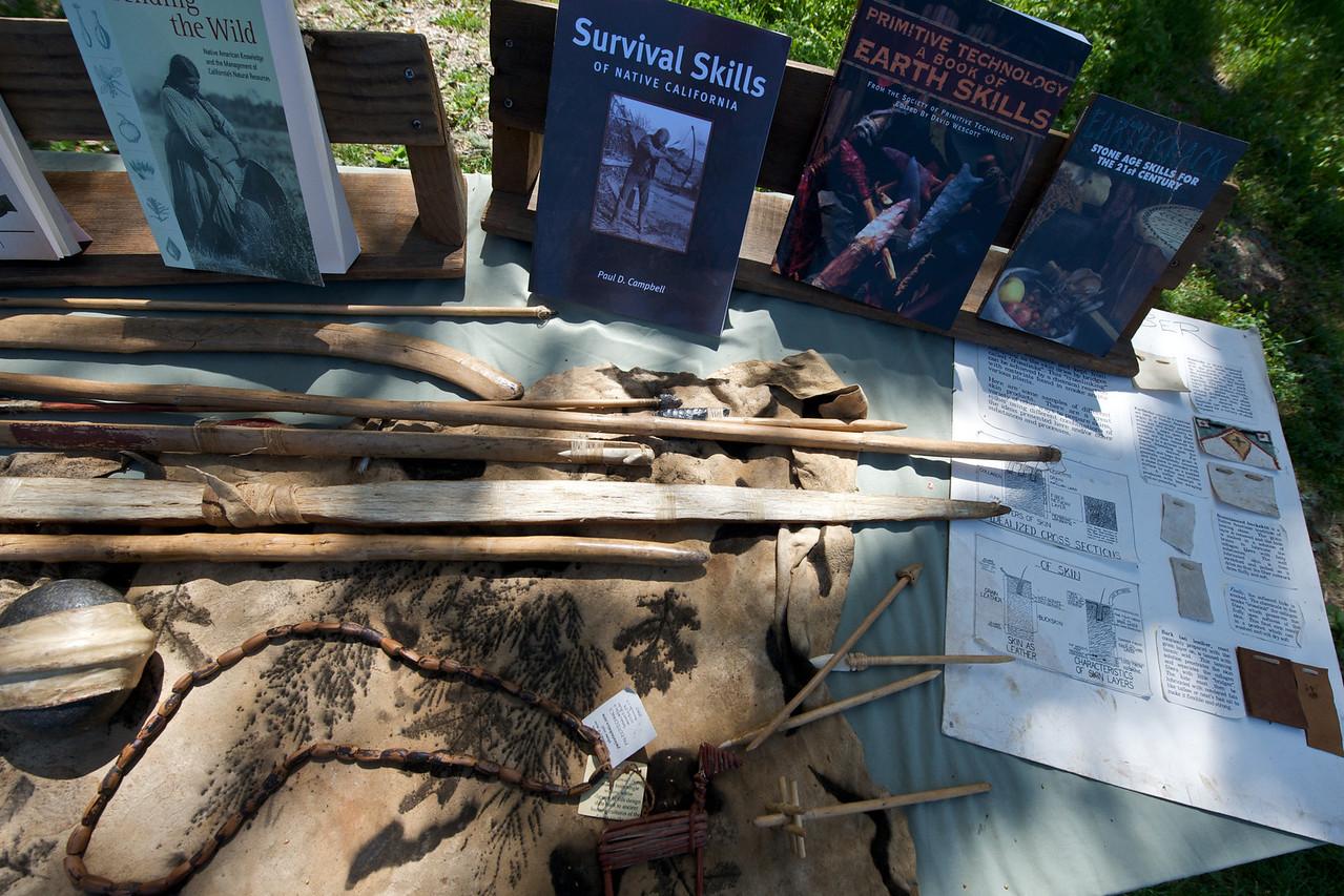 Greenwood School 3rd Grade Nature Studies at Ocean Song in Occidental, with primitive tech teacher Tamara Wilder.