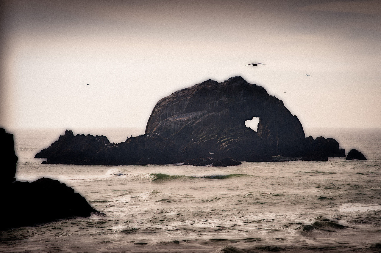 Gary (this will not be in the show, but I wanted to share it here because it's a cool image of the heart in seal rock)
