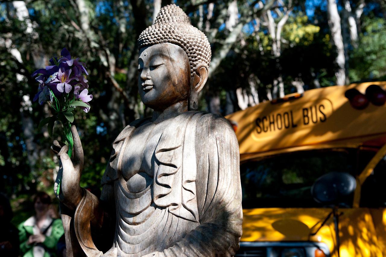 School Bus Buddha