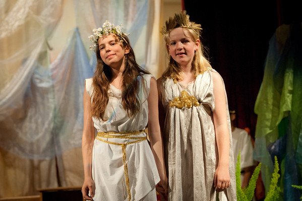 "5th Grade play ""Demeter and Persephone"""