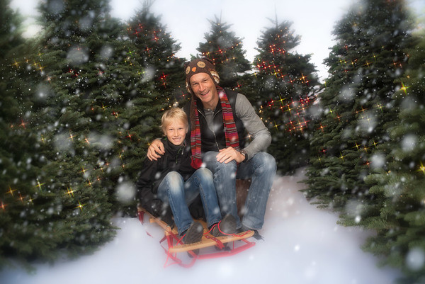 Winter Faire Family Fantasy portraits