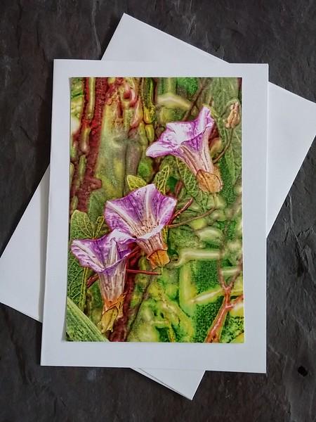 FL27 Abstract Purple Trio
