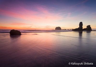GC-147: Bandon Beach Sunset